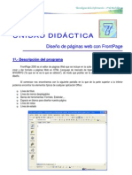 Prácticas de Fontpage