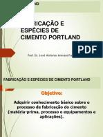 AULA-3-a FABRICAÇÃO DO CIMENTO PORTLAN