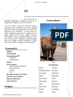 Lama (animal) — Wikipédia