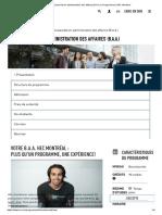 Baccalauréat en administration des affaires (B.A.A.) _ Programmes _ HEC Montréal