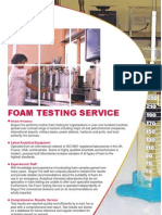 5221-4 Foam Testing Service
