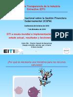 Ufer Iniciativa de Trans Par en CIA de La Industria Extractiva (EITI)