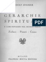 marie steiner - prefazione a gerarchie spirituali - fratelli bocca 1940
