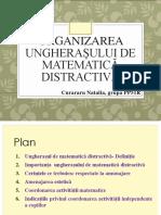 Organizarea  ungherașelor de matematică distractivă.pptx