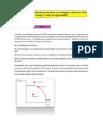 Frontera de posibilidades productivas y tecnológicas^J disyuntivas del tiempo y costos de oportunidad (1)