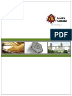 Lucky Cement Annual Report 2010