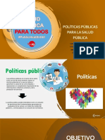 politica de salud publica