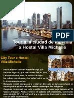 Panama Tours  x  Hostal Villa Michelle