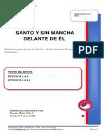 2020 MES 1 DIA 19- E. CELULAS - SANTO Y SIN MANCHA DELANTER DE EL - MARIO ORTIZ C.