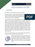 Compartiendo documentos en la WEB