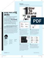 Kerning Tips
