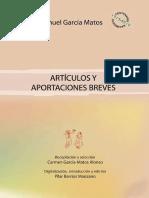García-Matos, M - Artículos y aportaciones breves