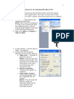 How to Randomize Word Documents