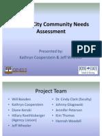 Garden City Community Needs Assessment 2010