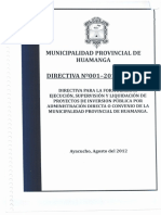 Directiva Obras  2012 A.D. pdf