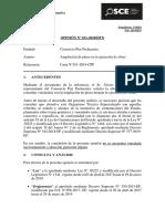 011-20 -  CONSORCIO PTAR PACHACUTEC - Ampliación de plazo -  Exp. 119283 (T.D. 16142553)