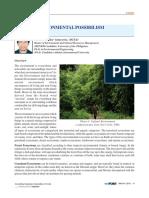 Environmental Possibilism