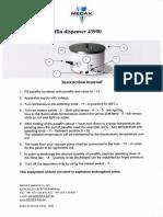 Medax_Paraffin_Dispenser_-_Instruction_manual