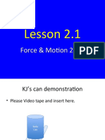 Force and Motion 2_1