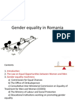 Gender Equality on Romania.CB