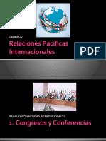 Relaciones Pacificas Internacionales