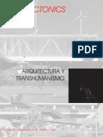Arquitectonics 1 - Arquitectura y Transhumanismo eng
