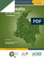 Glifosato - Un debate muy serio de salud pública
