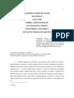 Leão XIII - Aeterni Patris