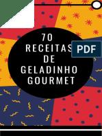 70 Receitas de Geladinho Gourmet