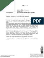 Acta de Remate, Santander Con Elgueta