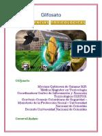 TRATAMIENTO TOXICOLOGICO CON GLIFOSATO - SALUD MONSANTO