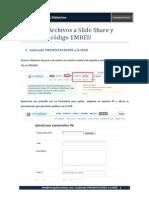 2 Public an Do Slide SHARE Usando EMBED