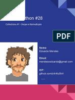 Live de Python #28