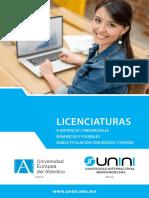 UNINI_FolletoLicenciaturas