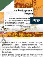 AULA 2 - A LÍRICA PORTUGUESA E SUAS RELAÇÕES COM A LÍRICA BRASILEIRA - TRÊS MOMENTOS - 20201