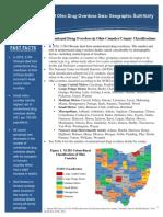 2018 Ohio Drug Overdose Geographic Analysis