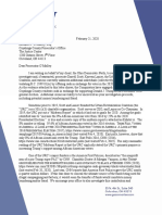Ohio Democratic Party letter to Cuyahoga County Prosecutor's Office