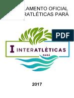 Regulamento Oficial - Interatléticas PA (alterado)