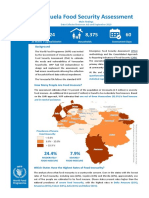Main Findings WFP Food Security Assessment in Venezuela