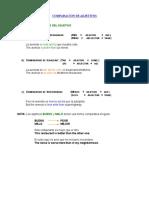 2 COMPARACION DE ADJETIVOS II