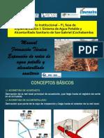 Manual de expansión de redes de alcantarillado sanitario y agua potable