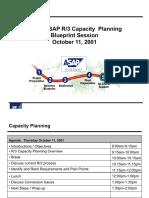 Capacity Planning in SAP
