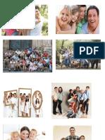 tipos de familia y partes de la celula