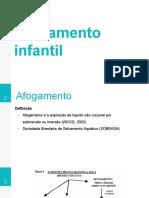 Afogamento infantil - Atenção Primária
