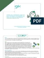 Plaquette Ecologik Business