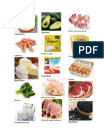 Alimentos de la CBA