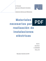 trabajo instalaciones electrica