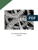 Mechanical Engineering I