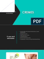 Forma Farmacêutica -Cremes-