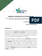 CURSO LIDERAZGO Y RESILIENCIA ORGANIZACIONAL